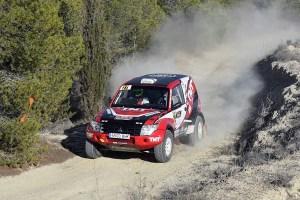 Giancarlo Mammoli escala hasta la cuarta plaza del Campeonato de España de Rallyes TT