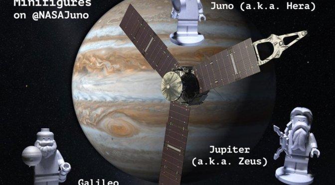 ¿Conóces las figuras lego que llegaron a Jupiter?