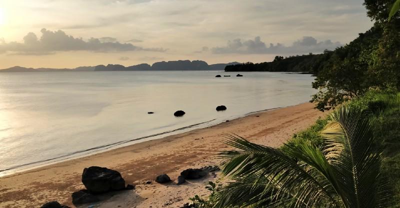 Private beach, No humans, No trash.