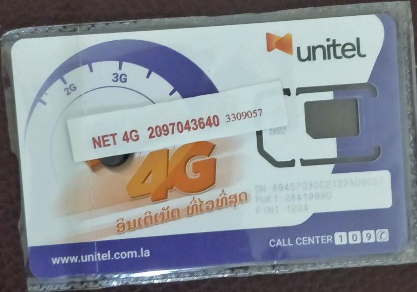 Mobile Internet (4G) in Laos