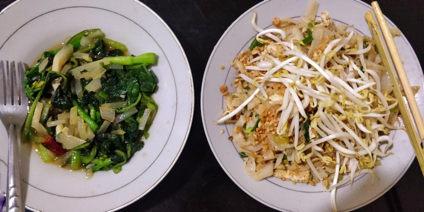 My experiments with the Thai cuisine