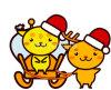 Animal Series carry the gift of Christmas クリスマスのプレゼントを運ぶ動物シリーズ2