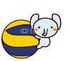 Ball-and-Animal Series ボールと動物シリーズ1