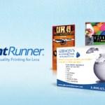 Print Runner postcard