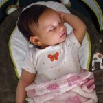 Maggie in Bouncer
