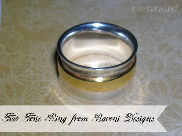 Two Tone Ring from Baroni Designs