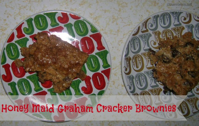 Honey Maid Graham Cracker Brownies