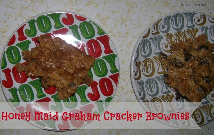 Honey Maid Graham Cracker Brownies