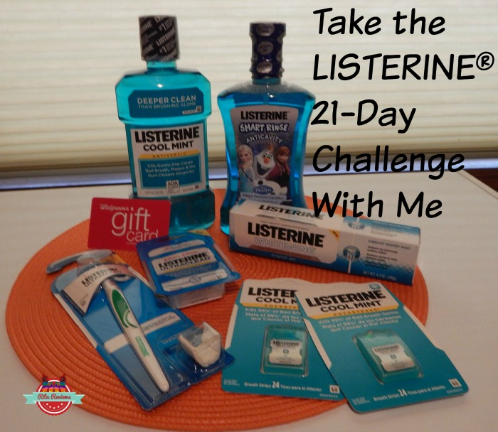 Take the LISTERINE® 21-Day Challenge With Me
