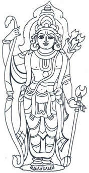 rama avatar Dashavatar pictures   indian mythology (2)