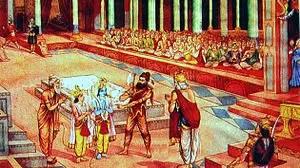 rama parshurama dashavatar sita swayamvar the ramayana The Ramayana story in pictures   Bal Kand (1)