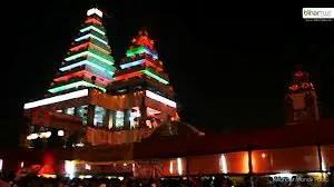 Mahavir temple at night, Patna