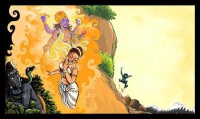 Bhasmasura and Mohini