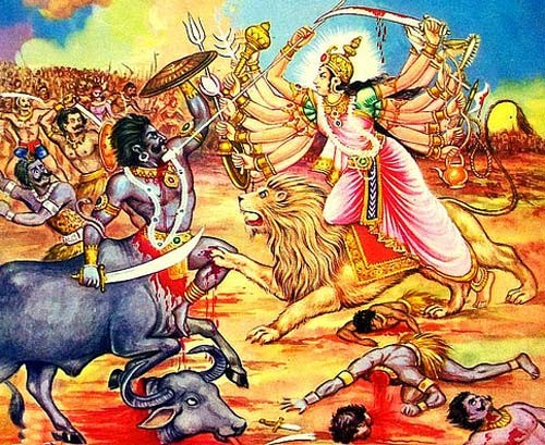 How Goddess Durga Saved The Gods From Mahishasura