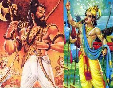 Bhishma and Parshurama