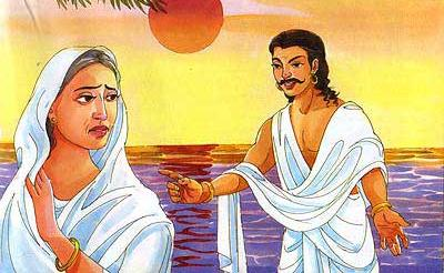 Karna and Kunti