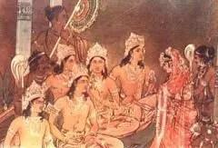 Pandavas marry Draupadi