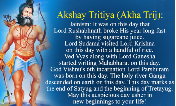 Importance of AkshayTritiya