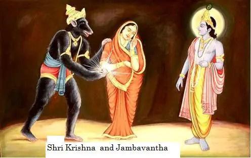 Jambavantha and Shri Krishna