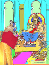 Malyavan advising Ravana