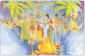 Marriage of Padmavati and Lord