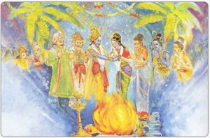 Marriage of Padmavati and Lord