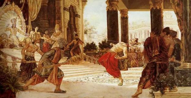 Shishupala killing by Shri Krishna