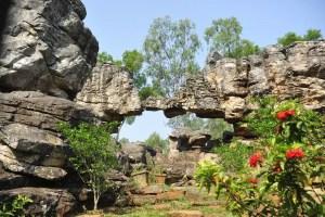 Balaji temple arch