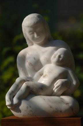sérénité - sculpture de Dominique Rivaux