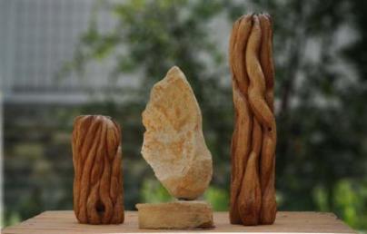 sculpture Présence - Flamme - La Trinité