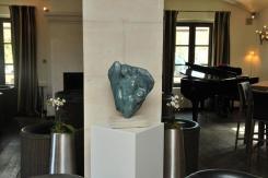 Exposition des sculptures de Dominique Rivaux à Coquillade