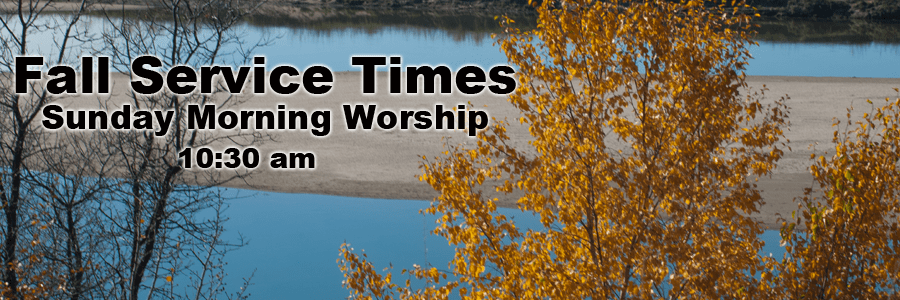 Fall Service Times
