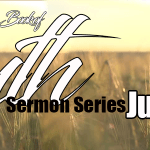 Book of Ruth Sermon Series – July