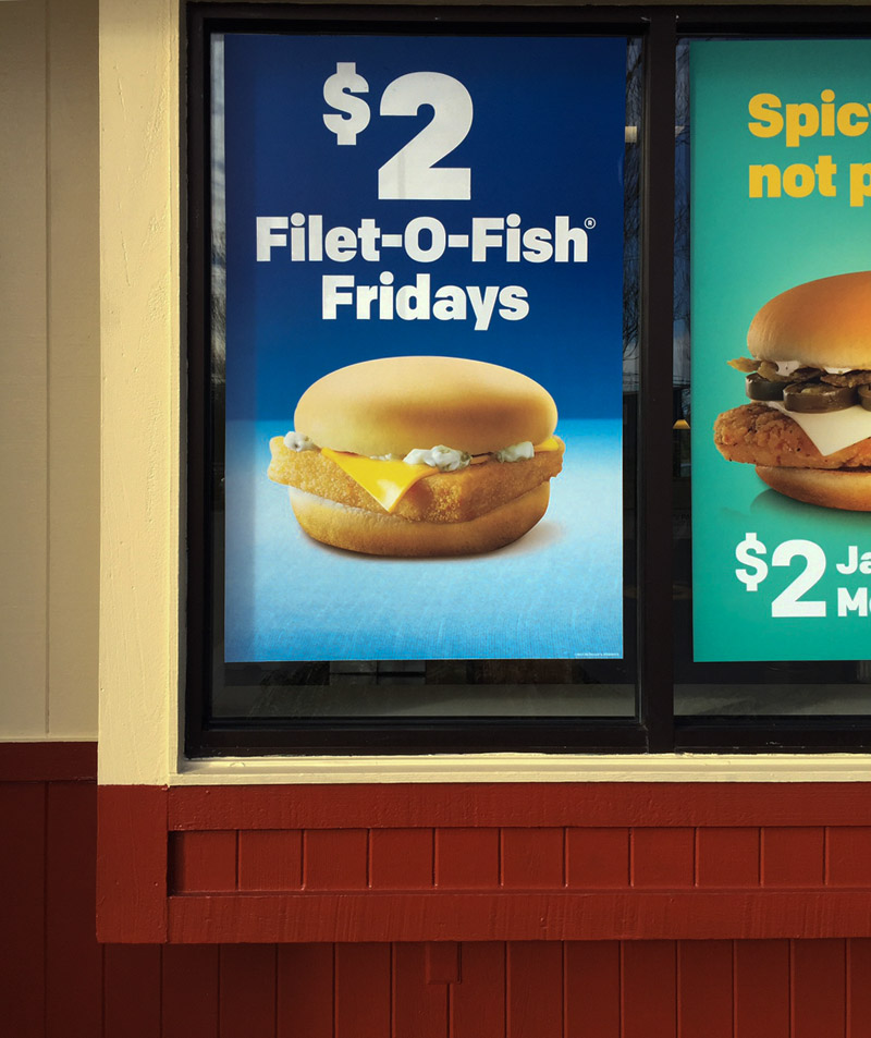filet o fish and portrait photography riveted