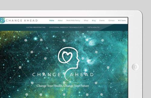 Change Ahead Custom WordPress Web Design by RKA ink