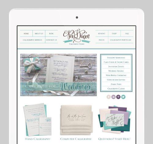 PenDance Custom WordPress Web Design by RKA ink