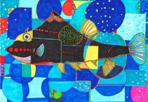 Flame (Black Fish)
