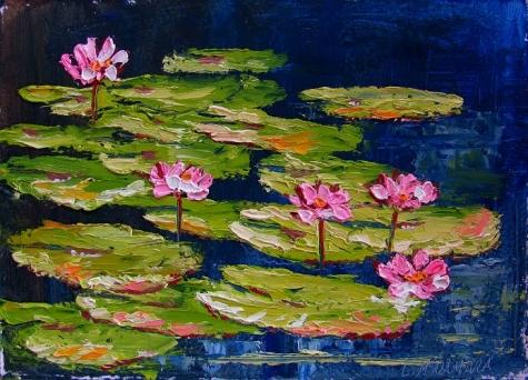 Pink Lily Lagoon (Cuddle the Schizo)