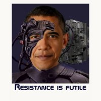 Star Trek Geeks T-Shirts & Gifts - Obama Borg