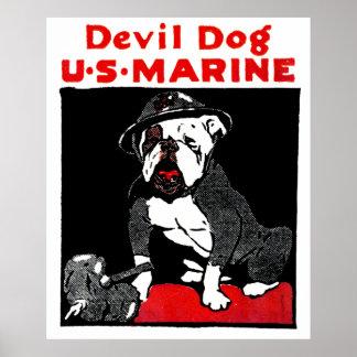 Poster do filme O Cão do Diabo