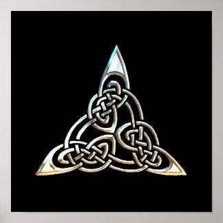 Poster do filme O Triângulo Prateado
