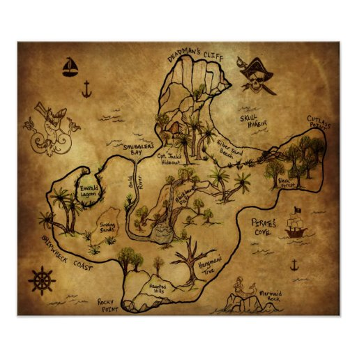 Poster do filme A Ilha do Tesouro