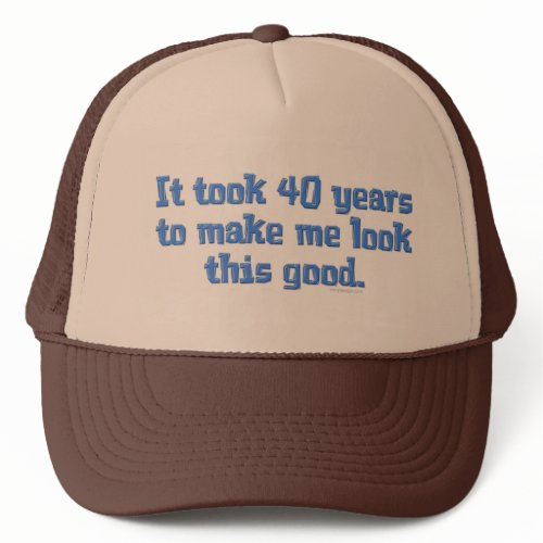 40 jaar Oud hat