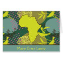 Africa Bird Stationery Note Card
