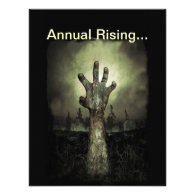 Annual Rising Halloween Party Invitation
