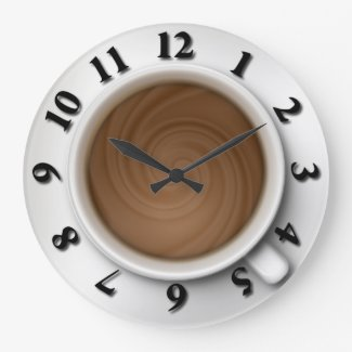 Coffee Time Wallclocks