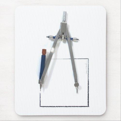 compass mousepad mousepad