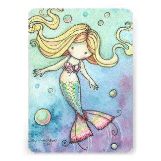 Girls birthday invitations birthday party ideas themes cute mermaid birthday party invites for girls filmwisefo
