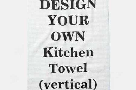 design your own kitchen towel (vertical) | zle