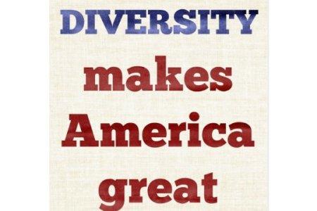 diversity makes america great postcard r6df2954c9d6b4d829c3b789bdce966aa vgbaq 8byvr 540